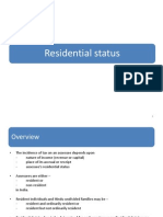 2.Residential Status - College