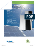 ETN10K 10kW 3-Phase PV Grid Connect Inverter Flyer PA en 6 2012