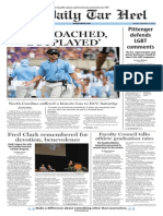 The Daily Tar Heel for Sept. 22, 2014