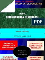 borokrasi dan demokrasi