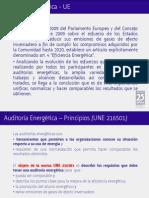 Auditoría Energética UNE216501