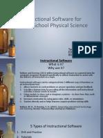 instructional software