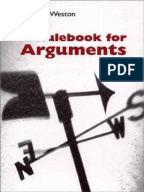 A RULEBOOK FOR ARGUMENTS BY ANTHONY WESTON PDF DOWNLOAD