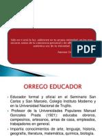 ORREGO EDUCADOR