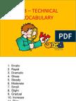 Sub- Technical Vocabulary