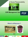 Csr Models
