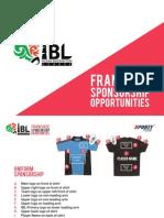 Franchise Sponsorship Opportunities