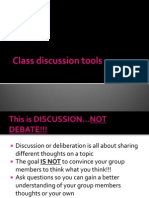 class discussion tools