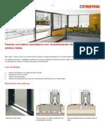 Puerta Corredera Elevadora U1254869913282U