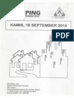 Kliping Berita Perumahan Rakyat, 18 September 2014