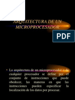 Arquitecturas de Microprocesares