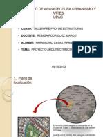 1-Proyecto Arquitectonico - Taller de Estructuras 09-10-13