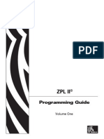 Zebra Programming Language (ZPL-II)