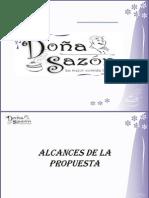 Presentación DOÑA SAZON