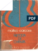 181969357 Matteo Carcassi Metoda de Chitara