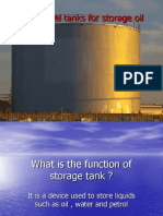 Welded Steel Tanks for Storage Oil