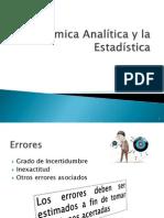 Clase4- Quimica Analitica vs Estadistica