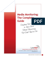 Media Monitoring Whitepaper