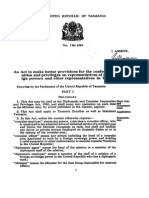 The Diplomatic and Consular Immunities and Privileges Act,