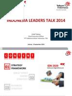 Indonesia Leaders Talk 2014