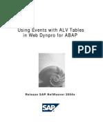 Interactive Alv in WEBDYNPRO