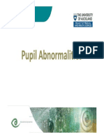 Okophthalmology v Pupil Abnormalities