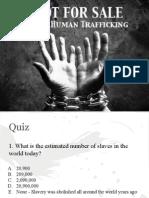 2014 anti human trafficking lesson presentation