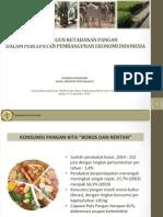 Membangun Ketahanan Pangan dalam Percepatan Pembangunan Indonesia