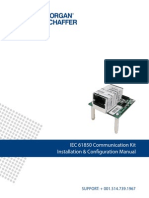 IEC 61850 Communication Kit Installation & Configuration Manual Rev-03