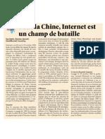 Pour La Chine, Internet est un champ de bataille
