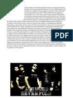 Avenged Sevenfold Poster Deconstruction
