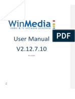 Winmedia 2.12 User Manual v 2 En