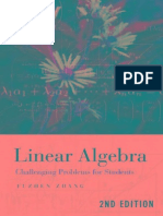 Linear Algebra Challenging Problems