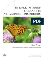Brief Therapy Attachment Disorders