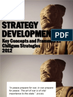 Strategy Development Key Concepts