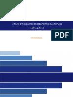 Atlas Brasileiro Desastres Naturais