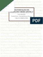 Materiales de Derecho Mercantil i (Versión Alumno)