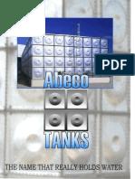 Pressed Steel Tanks