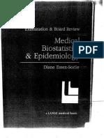 Medical Biostatistics and Epidemiology 2