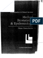 Medical Biostatistics and Epidemiology 2