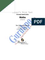 Maths X