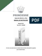 Manual Aquecedor Oleo Princesse RD-9