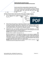 Varianta Info 2009 S3