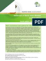 Ebola Virus Disease West Africa Risk Assessment 27-08-2014