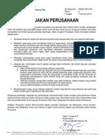 Kebijakan Lingkungan PT Semen Indonesia
