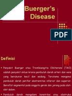 Buergers Disease Lapsus