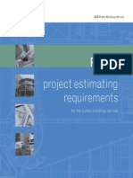 P120-Project Estimating Requirements GSA 2007