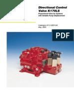 1009858 K170LS Parts Service