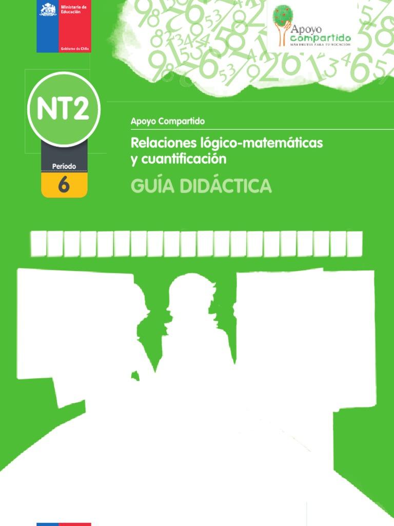 NT2 Guía Didáctica - Relaciones Lógico-matemáticas y Cuantificación