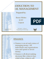Finanacial Management